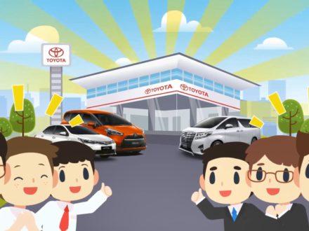 อินโฟกราฟิก การขายกับ Toyota