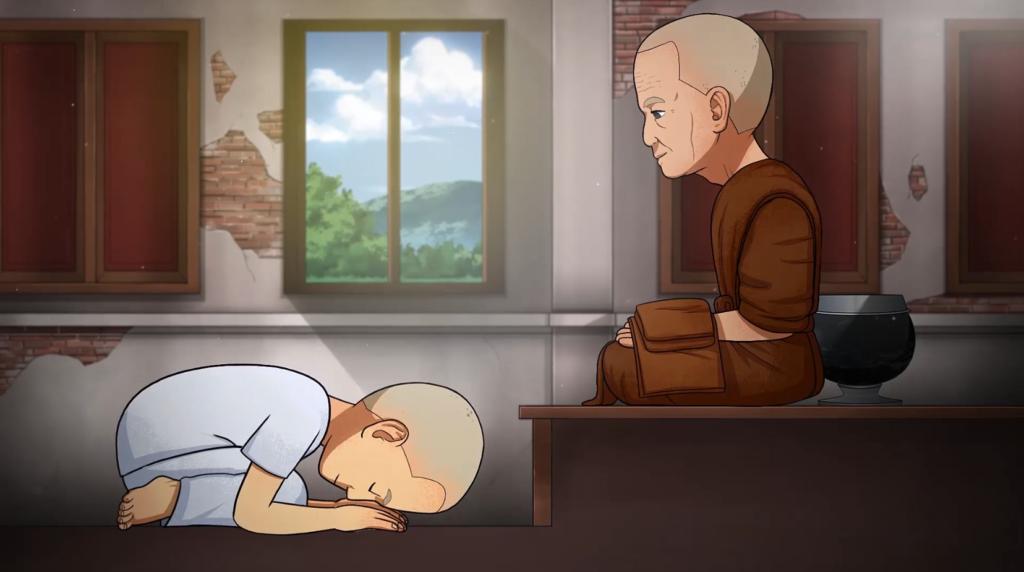 โปรเจกต์อนิเมชันชีวิตประวัติของพระเกจิอาจารย์ชื่อดัง