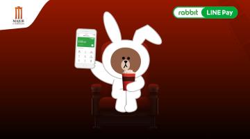 โฆษณา Major Rabbit LINE Pay